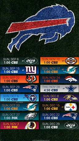 Buffalo Bills 2019 Mobile Field Nfl Schedule Wallpaper Buffalo Bills Buffalo Bills Logo Buffalo Bills Football