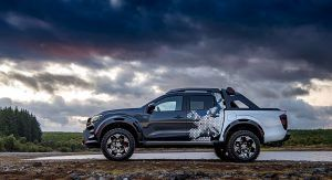 Nissan Navara Dark Sky Concept Packs Plenty Of Star Power Thanks Its To Observatory Class Telescope Carscoops Nissan Navara Nissan Nissan Navara D40