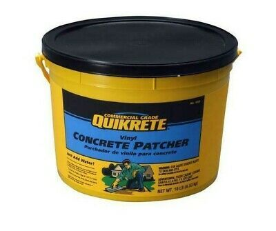 Ebay Sponsored Quikrete 10 Lbs Vinyl Concrete Patcher Indoor Outdoor Ready To Use No Mixing Concrete Repair Products Cement Concrete