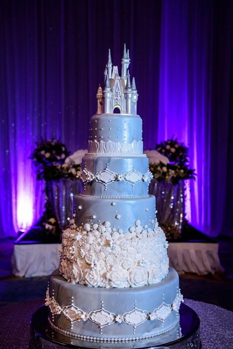 Is Blue Wedding Cakes With Prices Any Good? 7 Ways You Can Be Certain - Is Blue Wedding Cakes With Prices Any Good? 7 Ways You Can Be Certain - blue wedding cakes with prices 8 Tier Wedding Cakes, Castle Wedding Cake, Wedding Cake Prices, Wedding Cake Designs, Wedding Cupcakes, Cinderella Quinceanera Themes, Quinceanera Cakes, Cinderella Wedding, Disney Castle Cake
