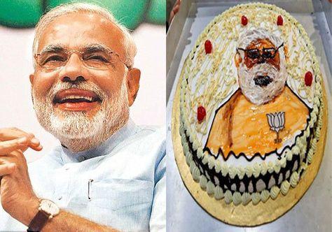 #ModiBirthday: 8 unseen birthday cakes for PM Narendra Modi