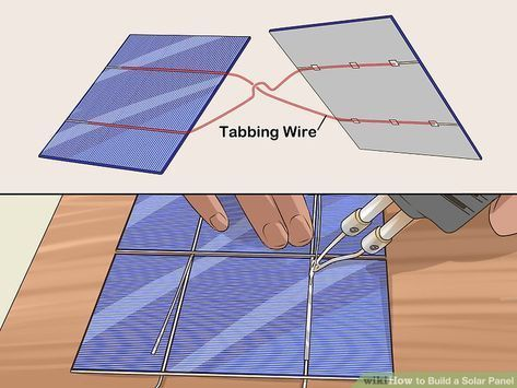 Image Titled Build A Solar Panel Step 8 Homemade Solar Panels Solar Energy Panels Solar Projects