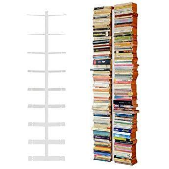 Radius Design Booksbaum Double Wand Gross Weiss 2tlg Best Aus Halterung Einlegeboden W Unsichtbares Bucherregal Regal Halterung