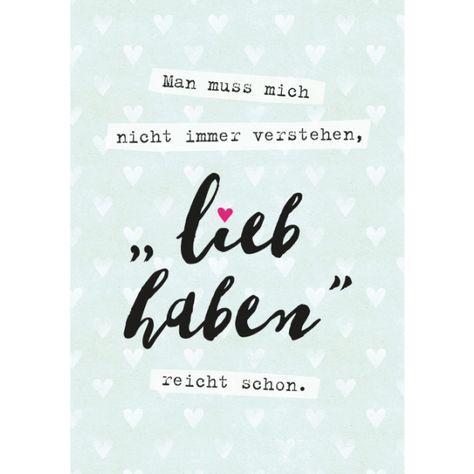 Wortschätzchen Postkarte Großformat 9720/Bild1