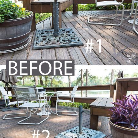 The Spray Painting Tip That Every Diy Er Should Know Painting Patio Furniture Patio Patio Umbrella Stand