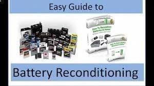 How To Bring A Dead Battery Back To Life Revive Rejuvenate Fix Rechargeable Nicd Battery Youtube Dead Battery Repair Battery