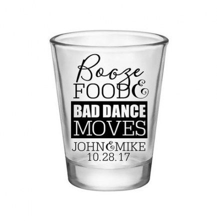 48 Ideas For Wedding Favors Food Shot Glasses Personalized