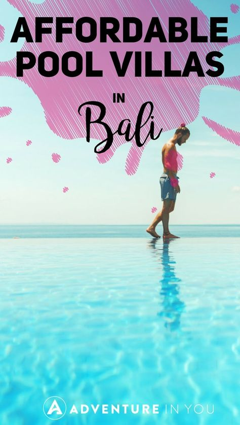 Villas in Bali | Looking for the best places to stay in Bali? Take a look at our top recommendations on the best villas to stay at when you're in the area. #balivillas #bali #indonesia