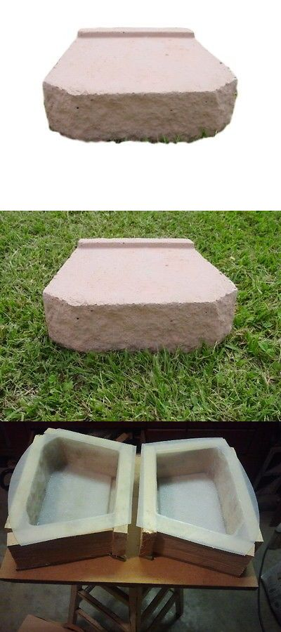 Details About Retaining Wall Block Garden Patio Cement Concrete Mold Qty 2 3001 Moldcreations Concrete Block Retaining Wall Concrete Molds Patio Garden