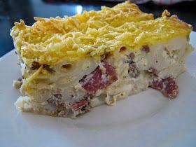 Resep Macaroni Schotel Panggang Lezat Resep Resep Pasta Makanan