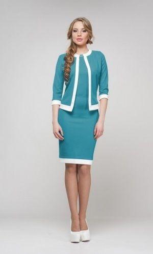 платье-костюм фото