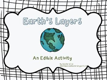 Science.....Earth's Layers... an Edible Activity