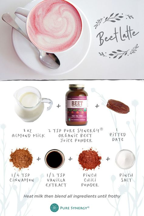 this beet latte is just what your morning needs shop our organic beet juice