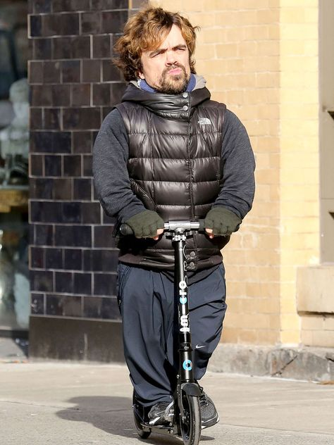 Peter Dinklage Riding A Razor Scooter Peter Dinklage Pinterest - Photo of peter dinklage riding a scooter sparks funniest photoshop battle ever