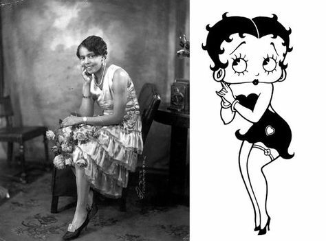 The Real Betty Boop Black Actress Singer Esther Jones Betty