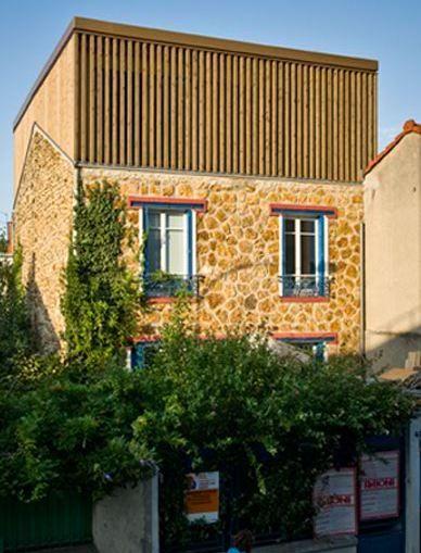 Construction du0027une extension à ossature bois de 20m2 à Aix-en
