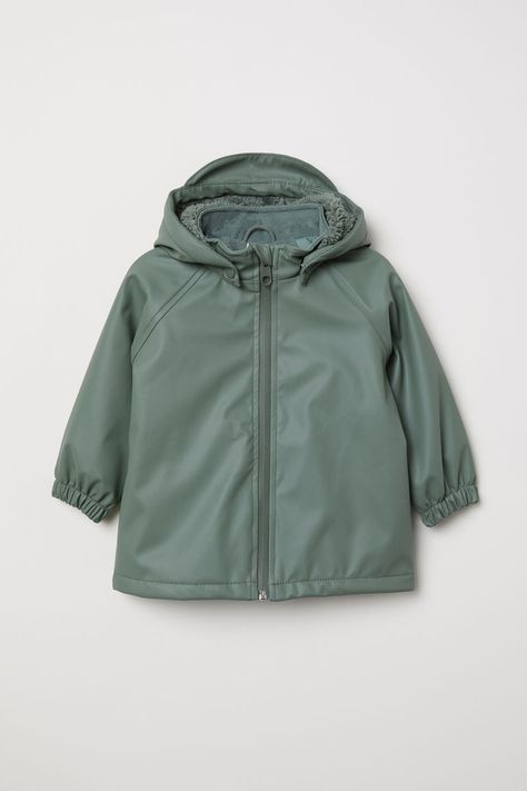 abcb6332b4f0 Fleece-lined Rain Jacket
