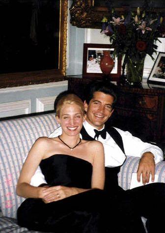 Carolyn Bessette and JFK, Jr.