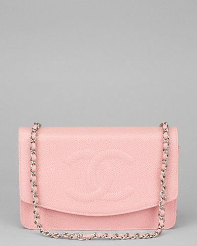 8e5cf878c560 little pink wallet on a chain   Chanel Pink Caviar Leather Wallet on Chain