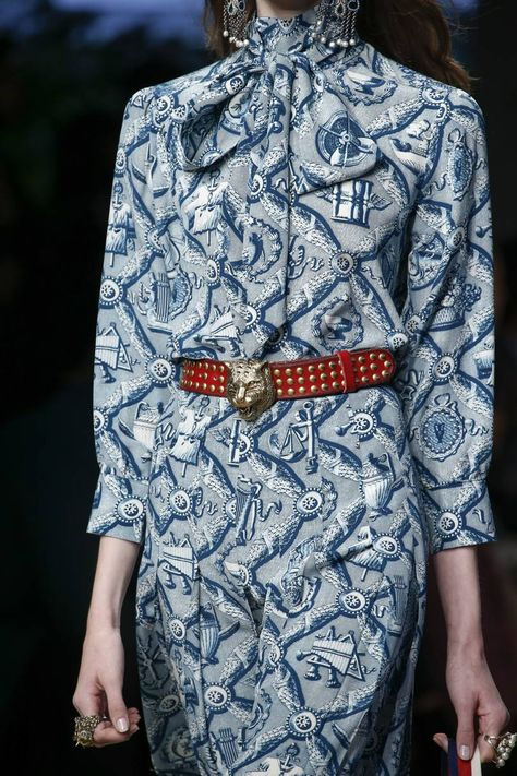 Gucci Spring 2016 Ready-to-Wear Fashion Show - Gucci Spring - Ideas of Gucci Spring. - A detailed look at Gucci Spring 2016