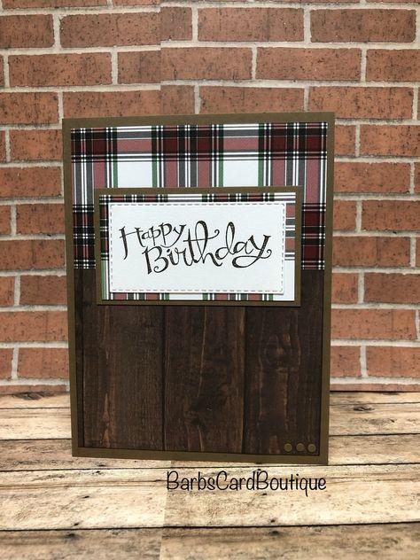 Birthday Cards For Boys, Masculine Birthday Cards, Bday Cards, Handmade Birthday Cards, Masculine Cards, Happy Birthday Cards, Birthday Greeting Cards, Card Birthday, Men Birthday