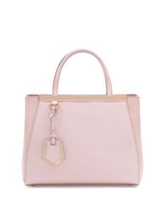 fcb1d02b810d 2Jours Petite Shopping Tote Bag Light Pink