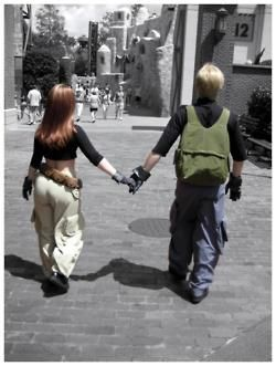 Kim Possible and Ron Stoppable on their way to a final mission at the Disney Hollywood Studios. One Final Mission