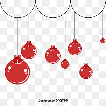 Cute Red Christmas Ornaments Christmas Ornament Clipart Red Christmas Balls Png Transparent Clipart Image And Psd File For Free Download Red Christmas Ornaments Red Christmas Christmas Balls