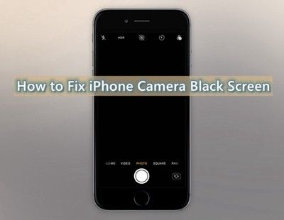 8 Solutions How To Fix Iphone Camera Black Screen Iphone Camera Black Screen Iphone