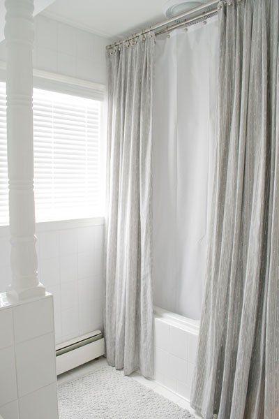 Bathroom Mini Makeover Custom Shower Curtains Bathroom Shower