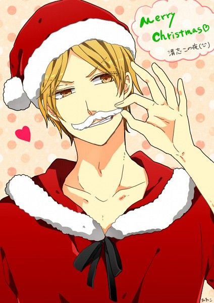 Christmas Anime boy | Christmas Anime | Pinterest | Anime, Kuroko ...