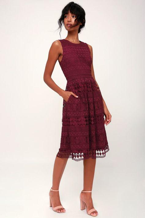 9f572b8cf26dcc Beautiful purple Dress flare at bottom lace all ov Beautiful purple ...