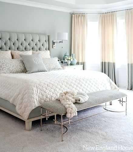 Grey Upholstered Headboard Bedroom Ideas Topdekoration Com Bedroom Interior Master Bedroom Interior Master Bedrooms Decor