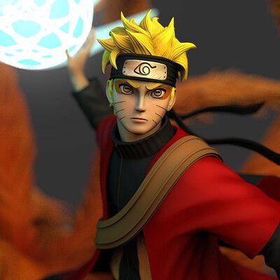 Naruto Sage Mode Rasenshuriken Naruto Naruto Uzumaki Desktop Wallpaper