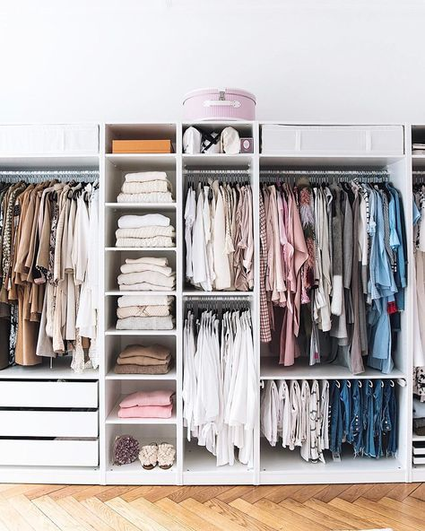 Remember This Blogpost About My Closet There Is A New Interior Post With Insights From Our A In 2020 Bedroom Organization Closet Closet Decor Closet Designs