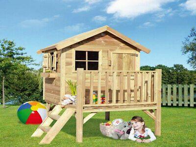 Kinderspielhaus Stelzenhaus Garten Kinderhaus Funny L 14 Mm Holz Impragniert 8718868713070 Ebay Kinderspielhaus Spielhaus Spielhaus Aus Holz