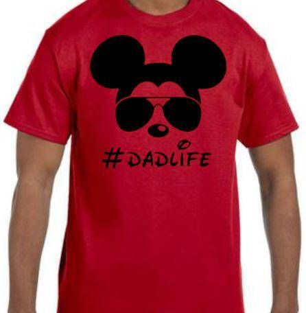 5c3d1526762ab Dad Life - Mickey With Sunglasses - Funny Disney Dad - Funny Dad ...