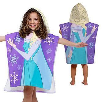 Disney Frozen Anna and Elsa Terry Beach Towel Blue