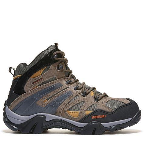 0f68bc08ecac Wolverine Men s Wilderness Waterproof Hiking Boots (Gunmetal Tan) - 11.5 M