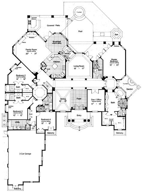 House Plans Home Plans And Floor Plans From Ultimate Plans Mediterranean Style House Plans Mediterranean House Plan Mediterranean House Plans