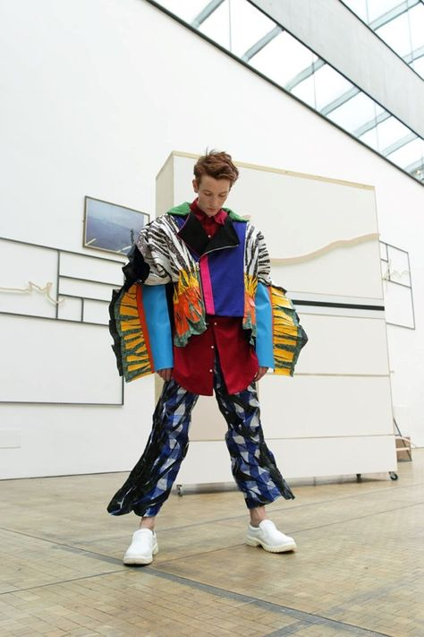 When disciplines mix, refreshing points of view come to life. We merged the work of Central Saint Martins BA Fine Art and BA Fashion Class of