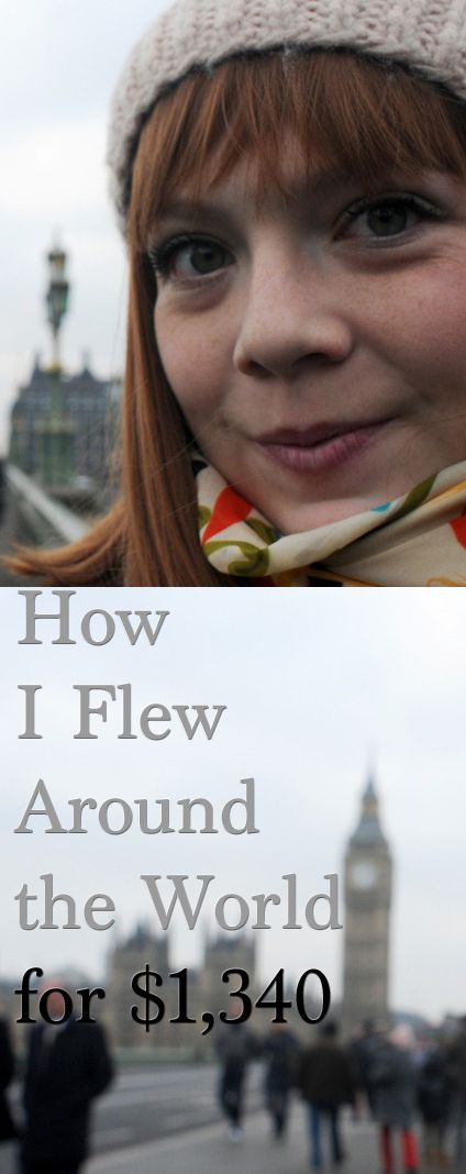 """""""How I flew around the world for $1,340"""" #travelhack...really interesting website! I like really would love to do this! It's like LOTR but without impending doom!! And just think of all the cultures you could experience and the new foods, people you could meet. Maybe one day I will take a year off and do a full world travel! And who knows, I may even find a place I want to live!"""