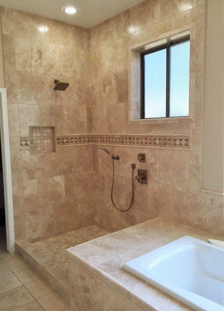 Fantastic Shower Design By Good Guys Remodeling In Phoenix Using