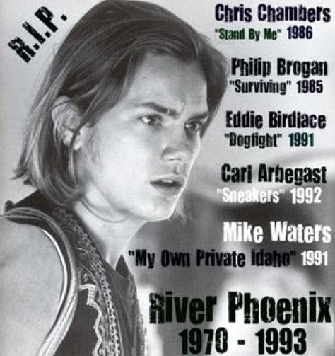 River Phoenix Movies - RIP