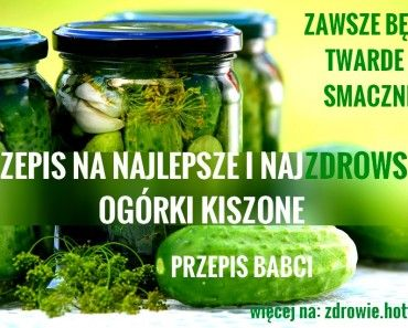 Ogorki Kiszone Przepis Babci Food Food And Drink Cucumber