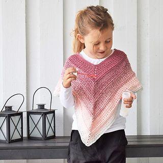 e12ba907 Strik selv: Smart vest eller poncho til friske piger - Hjemmet - ALT.dk    pigestrik   Knitting for charity, Knitting for kids og Vest