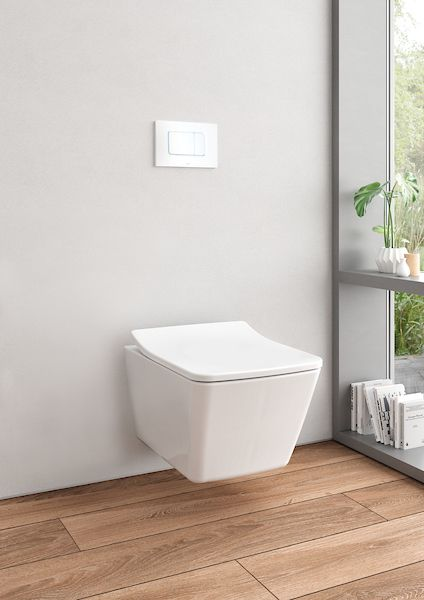 Modern Sleek And Sophisticated Our New Sp Toilet Complements Contemporary And Modern Design Learn More About It Wall Hung Toilet Toilet Wall Mounted Toilet