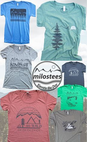 Outdoors T-shirts, adventure designs with a focus on the outdoors. Screen printed on soft apparel for those who elevate the day the nature way. Free shipping in the USA!