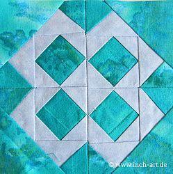 Squarez In Squarez Quilt Pattern Pieced JM