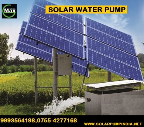 1 5 Hp Solar Water Pump For Drinking Water In 2020 Solar Water Pump Solar Solar Water